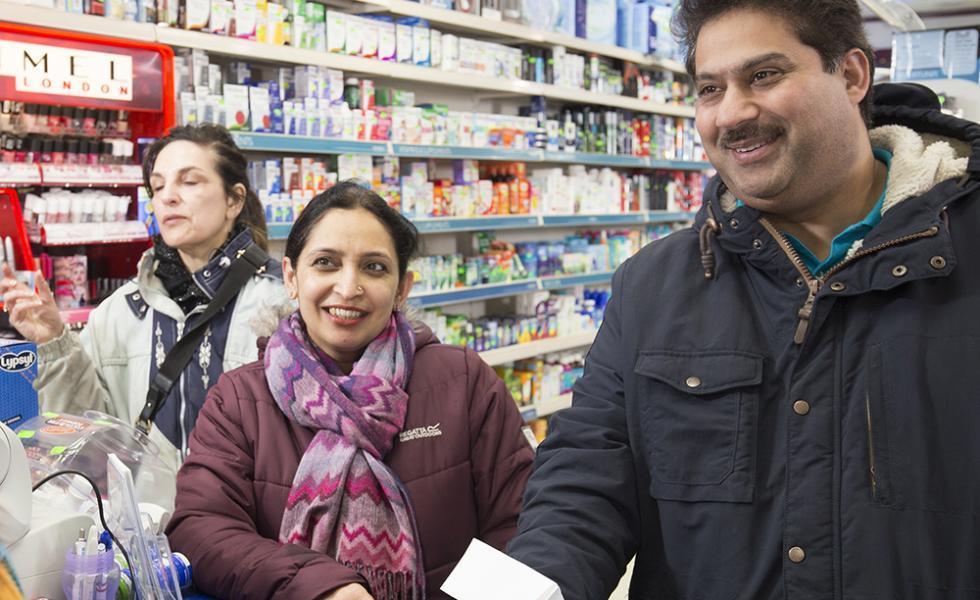patients in pharmacy