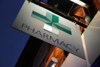 Picture of a pharmacy shop sign